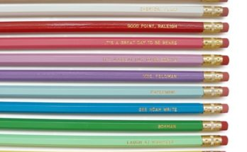How To Get Them Writing By Using Personalized Pencils